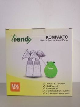 TRENDY - ELECTRIC DOUBLE BREAST PUMP (1 YR WTY)