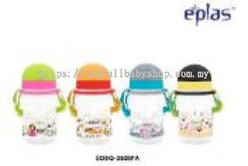 EPLAS-380ML BPA FREE KID'S BOTTLE WITH STRAW