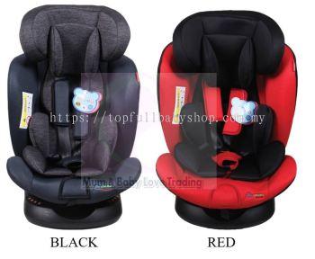 CAR SEAT HB636 - (0-36Kg ) BLACK,RED