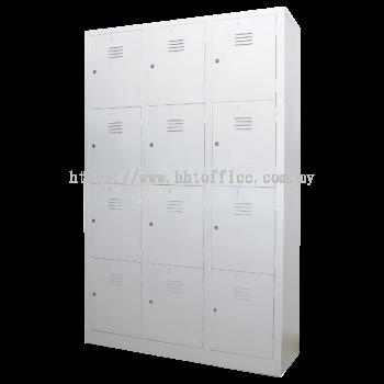 12L Compartments Steel Locker