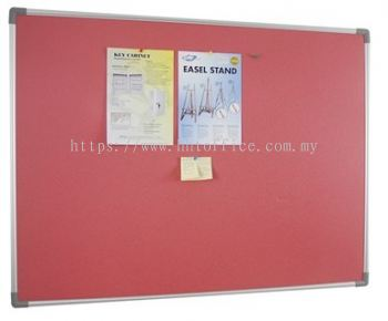 Aluminium Frame Foam Notice Board