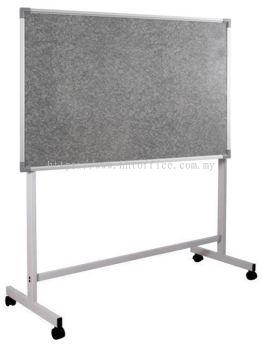 Aluminium Frame Stick-On Notice Board