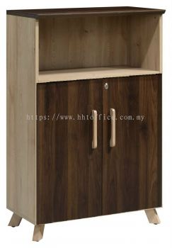 PX7-OW1275-Medium Height Cabinet with + Open Shelf
