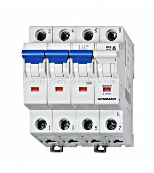 Miniature Circuit Breaker 4 Pole, BM Series