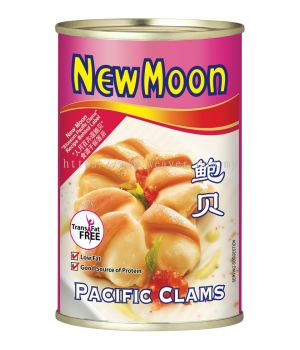 New Moon Pacific Clams 425g