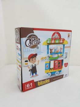 COFFEE SHOP (G) BLOCKS 60PCS