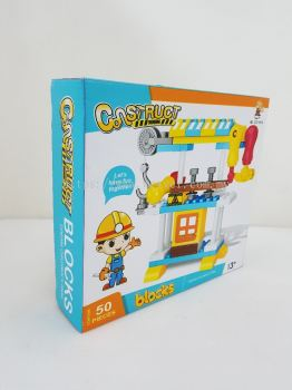 CONSTRUCT ENGINEER BLOCKS 50PCS