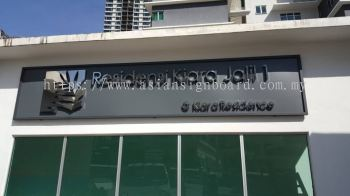 Bkt Jalil-Stainless steel boxup signage