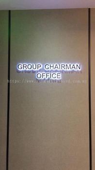 Puchong - We provide eg box up lettering and LED back light & 12mm acrylic backing
