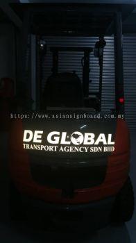 selangor puchong - reflective sticker signage