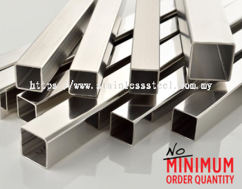 Stainless Steel Ornamental Square Tube/ Pipe (Hollow) | Grade: 304/ 316* | K. Seng Seng Industries Sdn Bhd