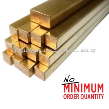 Brass Square Bar | Grade: JIS C3604 | K. Seng Seng Industries Sdn Bhd