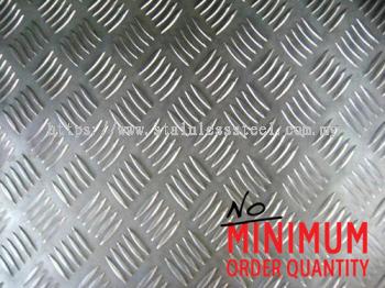 Aluminium Chequered Plate / Sheet | Grade: AA3003-F | K. Seng Seng Industries Sdn Bhd