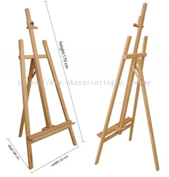 Easel Stand (Wood) 120 height cm