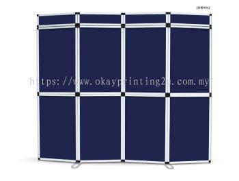 Folding Panel Display (Aluminium)