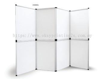 Folding Panel Display (White Board)