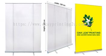 120cm Roll Up Stand