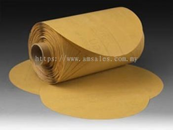 3M™ Stikit™ Gold Paper Disc Roll 216U, 5 in x NH- G400