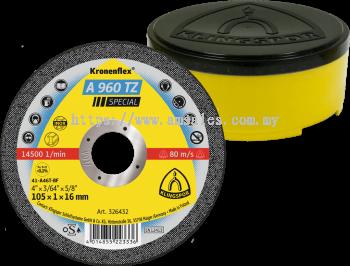Kronenflex® 326432 KT/SPECIAL/A960TZ/S/GER/105X1X16MM CUTTING DISC (ABDSCKL1740011)