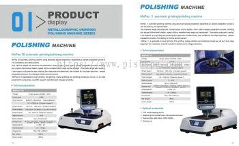Grinding & Polishing Machine