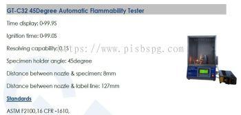 Automatic Flammability Tester