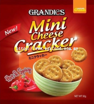 Hot & Spicy Mini Cheese Crackers