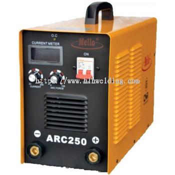 MELLO ARC Inverter Welding Machine (IGBT) 20-250A, 18kg ARC250