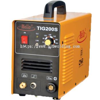 Mello Inverter TIG Welding Machine 10-200Amp, 9kg TIG200S