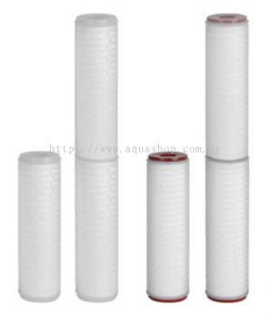 PP Pleated Refill 0.22(White)/0.45(Red)