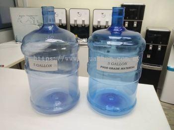 2000pcs x 5 Gallon Bottle (19.8 Liter) Food Grade Material Empty Bottle