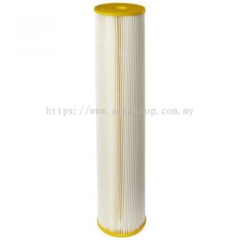 "20"" Big Blue Pleated By Pentek (5 micron)"