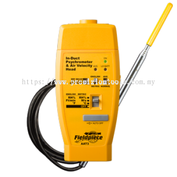 AAT3 - Hot-wire Anemometer & Psychrometer Accessory Head