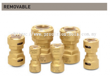 "ZoomLock Push Removable Couplings (7/8"")"