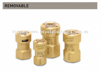 """ZoomLock Push Removable SAE Flare Adapters (1/4"""")"""