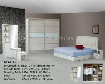 HY-7171 Bedroomset 7'x7'