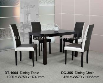 HY-31004 1+4 Dining Set