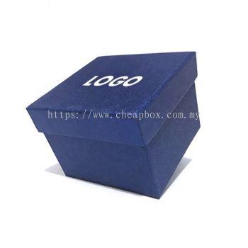 Charming Dark Blue Decorative Watch Cardboard Box