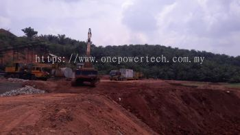 Supply 1 unit 1000kva & 500kva generator rental for construction work at Pahang