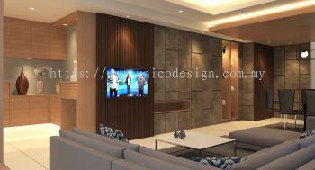 CAMOUFLAGE DOOR (TV AREA)