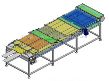 8 to 2 Merger Conveyor System