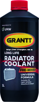 LONG LIFE RADIATOR COOLANT PRE-MIXED