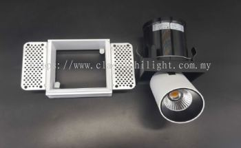 Oritz SL 7119-1L 12W Square Trimless LED Eyeball or Spot Light