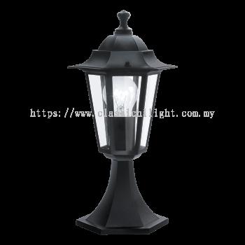 Eglo 22472 PEDESTAL BLACK-MATT 'LATERNA 4'