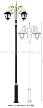 YX5047 L 3 METER LAMP POLE
