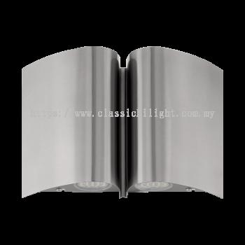 Eglo 94847 AL-LED-WL/4 STAINLESS STEEL 'SUESA'