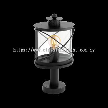 Eglo 94864 AL-SOCKEL/1 E27 SCHWARZ 'HILBURN'
