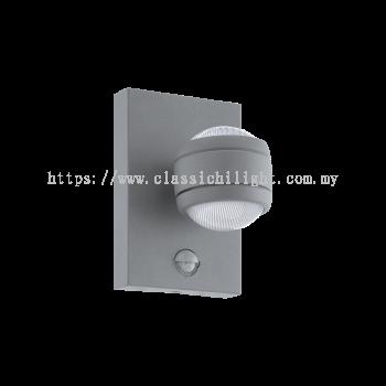 Eglo 96019 AL-LED-WL/1 M.SENSOR SILBER 'SESIMBA 1'