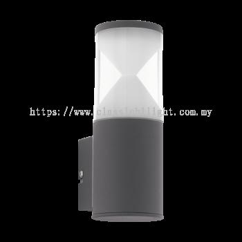 Eglo 96422 AL-LED-WL/1 ANTHRAZIT/KLAR-SAT.'HELVELLA