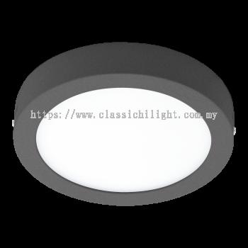 Eglo 96492 AL-LED-DL Ø225 ANTHRAZIT 'ARGOLIS'