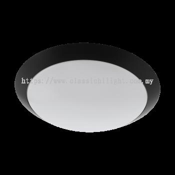Eglo 97255 AL-LED-WL/DL SCHWARZ/WEISS ''PILONE''